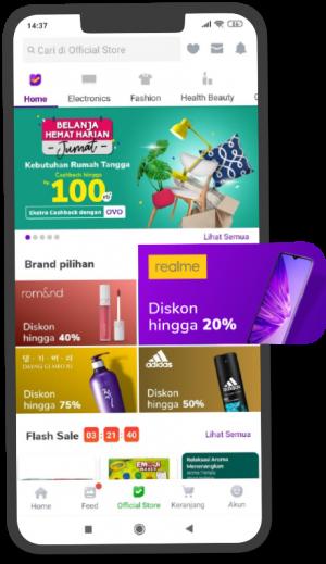 Tokopedia - Mockup Phone Brand Pilihan